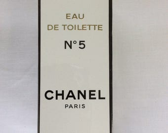 Chanel No5, Chanel No5 old formula, Vintage Eau De Toilette, Unopened box, Sealed box, TreasuresinTyme, Mothers day gift,