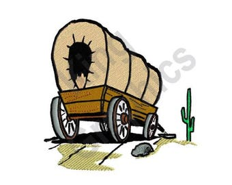 covered wagon kit etsy rh etsy com pioneer wagon clipart