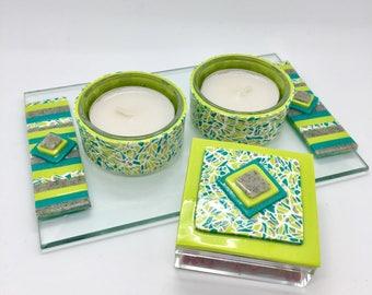 Shabbat candle holder set, shabbat candlesticks, Shabbat candle holder, Bat Mitzvah Gift, Judaica Gift