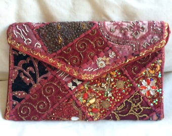 Stunning jewelled evening bag from Rajasthan