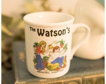 Meet the Watsons Funny Coffee Mug | Drinking Cup | Housewarming Gift