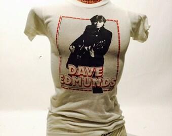 Vintage Dave Edmunds 70's Tee Shirt (os-ts-89)