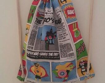 Hand made comics bag