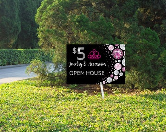 UPDATED LOGO Instant Download Digital Paparazzi Yard sign -Fashion Consultant