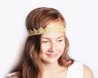 Boho Forehead Band, Cosplay Headdress, Gold Forehead Headband, Cosplay Headpiece, Princess Party Crown, Forehead Tiara, Forehead Headpiece