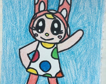 Animal Crossing Chrissy Small Drawing
