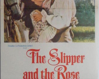The Slipper And The Rose - 1976 - Original Australian daybill movie poster - Richard Chamberlain