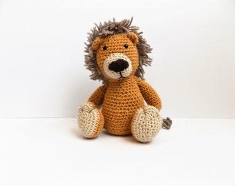 Lion **crochet pattern only**