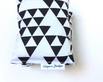 Heat Pack, microwavable, Monochrome Large Heat bag, 100% Cotton, heating pad.