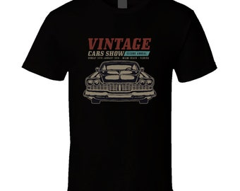 Muscle Car Show  T Shirt