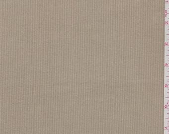 Tan Cotton Corduroy, Fabric By The Yard
