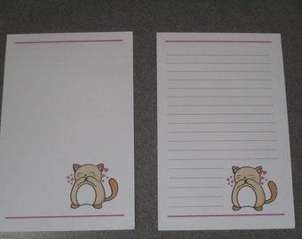 Kawaii Cat Stationery Set 3