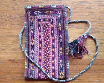 Hand stitched Turkish pouch