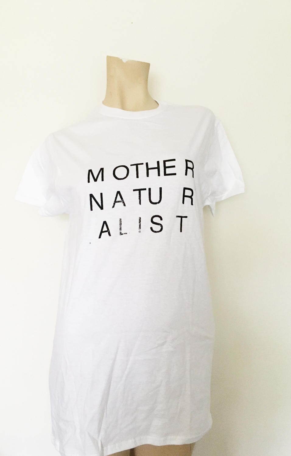mother naturalist tshirt fruit of the loom small cotton tee