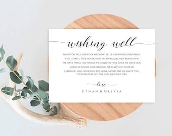 Well Wishes Cards, Printable Wishing, Wishing Printable,  Wishing Well, Wedding Wishing Well, Wishing Well Card, Wishing Well Wedding, Well