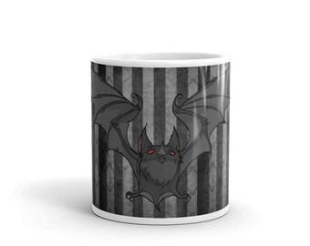 Feeling Batty - Vampire Bat Coffee or Tea Mug Iren Horrors collection