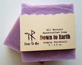 Essential oil soaps, peppermint, lemongrass, lavender