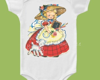 Mary Had a Little Lamb One piece, T-Shirt or Tank by ChiTownBoutique.etsy