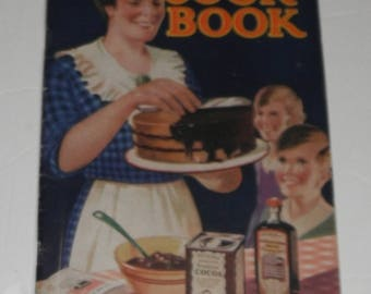 F W McNess Cook Book Vintage Softcover Book