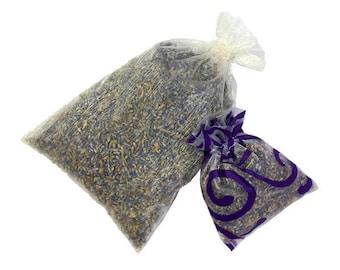 Dried Organic Lavender Sachet