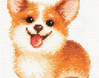 Cross Stitch Kit Keep a smile art. 16-18