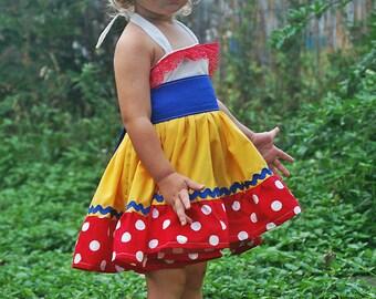 Snow White Costume, Snow White Costume Girls, Snow White Dress, Snow White Dress Girls, Snow White Outfit, Snow White Birthday Dress