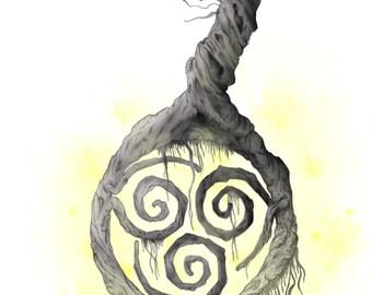 Elemental Tree Series- Air