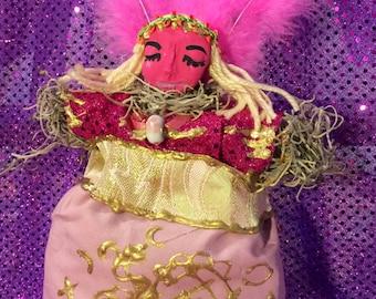 Erzulie Freda Voodoo Veve Altar Doll