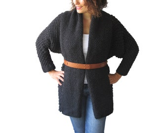 NEW! Charcoal Pop Corn Cardigan by AFRA