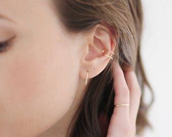Small Gold Earrings Dainty Gold Earrings Small Gold Hoop Earrings Small Gold Hoops Gold Drop Earrings