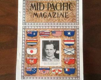 "Vintage ""Mid-Pacific Magazine"" - Volume XXX, No. 3 - September 1925"