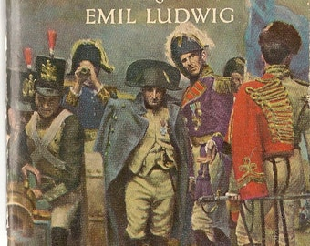 Napoleon + Emil Ludwig + Tom Dunn + 1954 + Vintage History Book