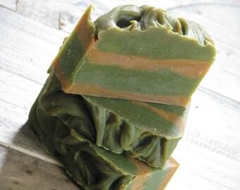 Cedar & Saffron Olive Oil Soap