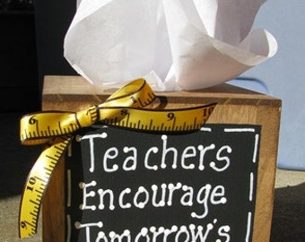 2711TBT -Teachers Encourage Tommorow's Dreams TIssue Box