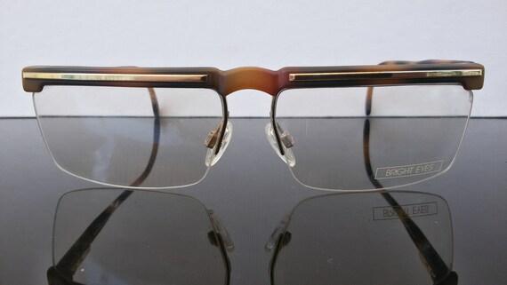 14d5e8c8ba9 Men eyeglasses   Metzler   quality frame   semi rimless