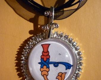 HANDMADE ARMENIAN INITIAL pendant