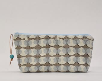 Ovals Zipper Pouch Gadget Case Cosmetics Bag - READY TO SHIP