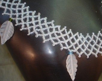 The White Witch of the Ice Forest  Choker or Collar  Necklace