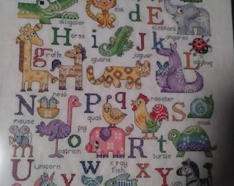 baby alphabet decor