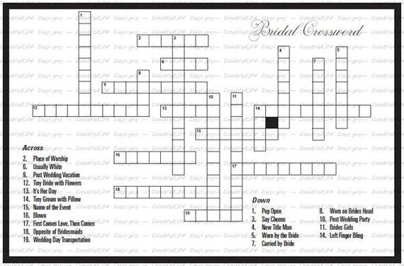 bestimmte Flats Kreuzworträtsel