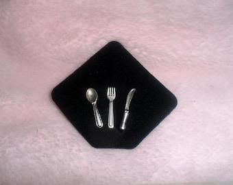 Dollhouse,miniature.Cutlery set