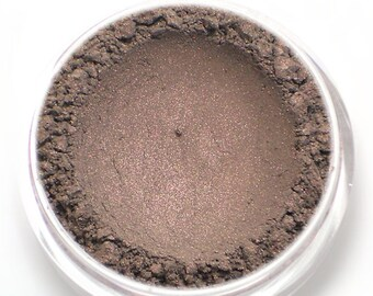 "Taupe with Pink Shimmer Eyeshadow - ""Silhouette"" - Vegan Mineral Makeup"