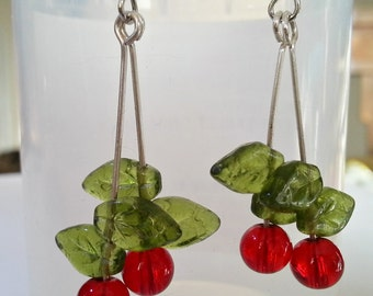 Cherry Oh Baby Earrings