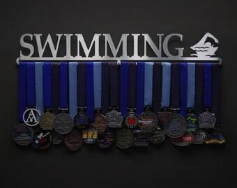 Swimming - Allied Medal Hanger Holder Display Rack