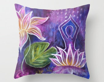 Emerge Pillow Cover 16x16, 18x18 or 20x20