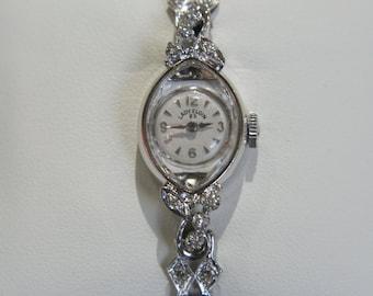 Vintage Lady Elgin Diamond Watch