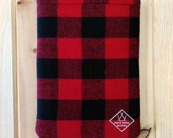 Book Snuggie - Red Flannel