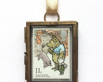 Classic Winnie the Pooh - Classic Pooh - Vintage Winnie the Pooh - Winnie the Pooh Nursery - Baptism Gift - Christening Gift - Pooh Bear