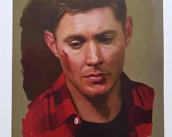 Dean Winchester. Season 12 A4 poster.
