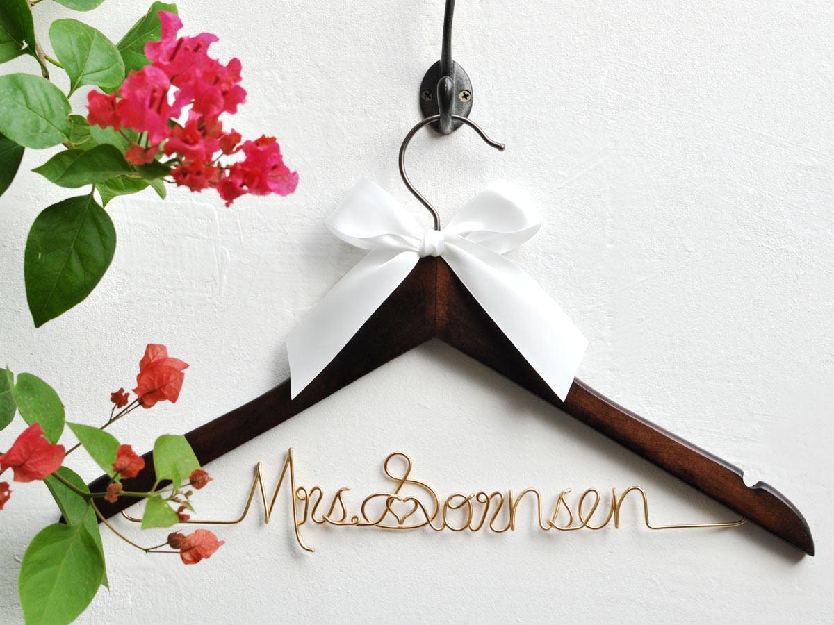 Hochzeit Braut Geschenk Geschenke personalisierte Hochzeit
